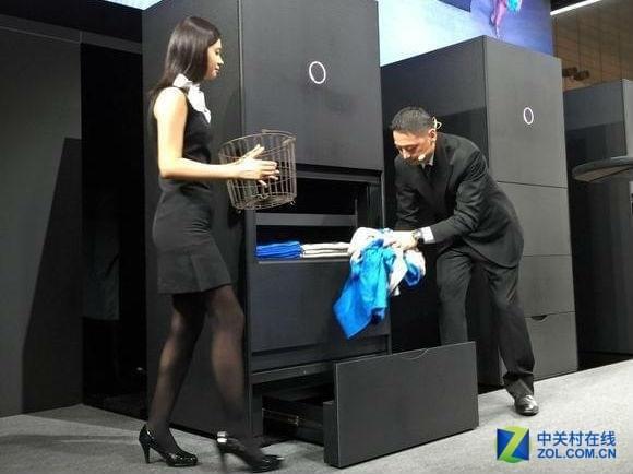 日企耗时10年研发自动叠衣机:售价12万元