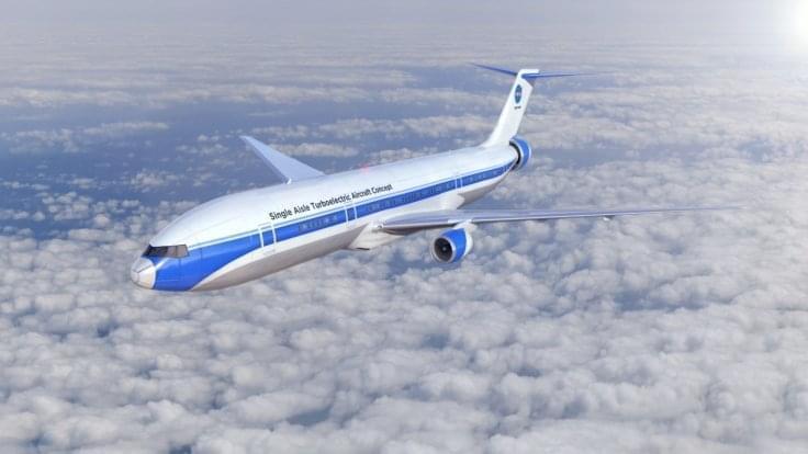 NASA正在研究混合动力客机:噪音更低、更省油