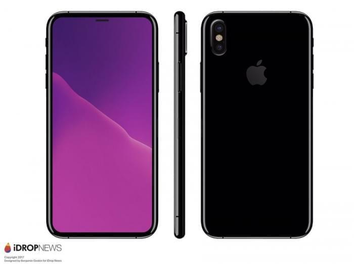 基于真实设计图的iPhone 8渲染图:屏占比可和S8一较高下的照片 - 6