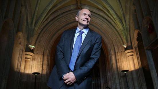 Tim Berners-Lee爵士。图片来源/bbc.com