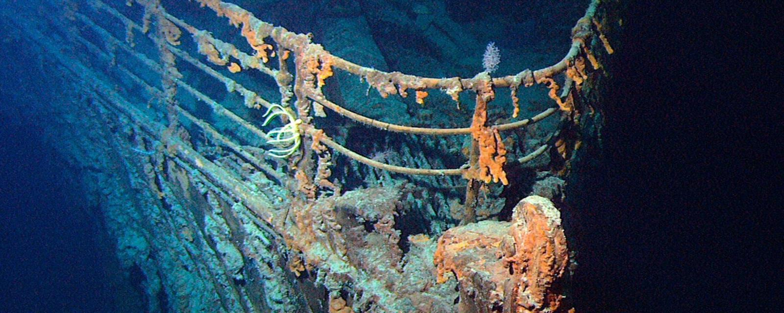 泰坦尼克号残骸正被