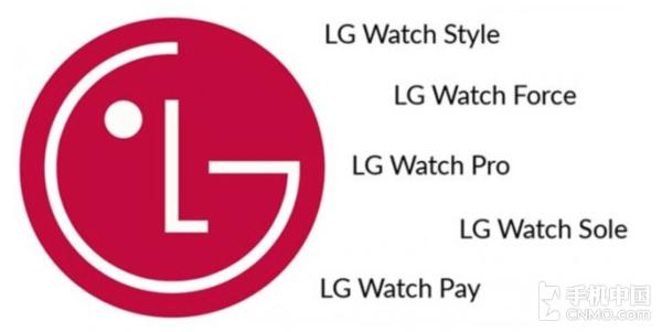 LG智能手表商标