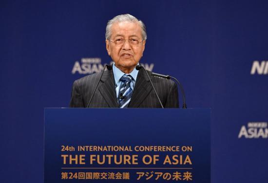 马来西亚新总理改口:隆新高铁是推迟不是取消