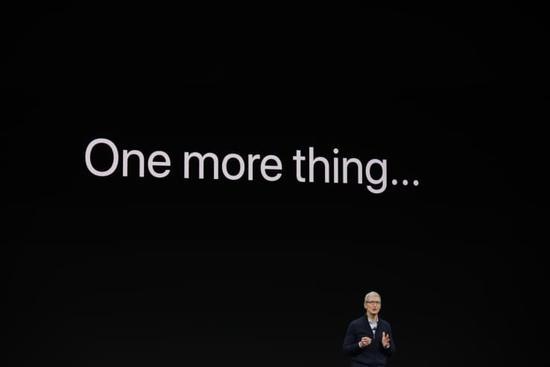 发布会没有意外,苹果股价盘中波动最终下跌0.4%