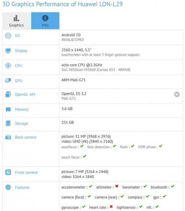 华为P10配置已被曝光:2K屏幕+6GB内存+麒麟960的照片 - 2