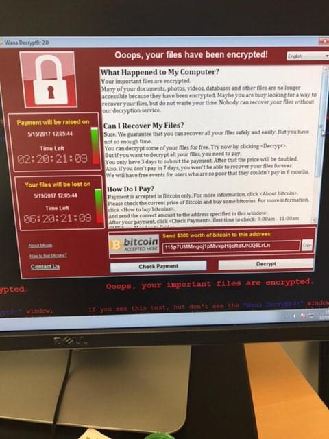 英国卫生部门受到黑客大规模攻击的照片 - 1