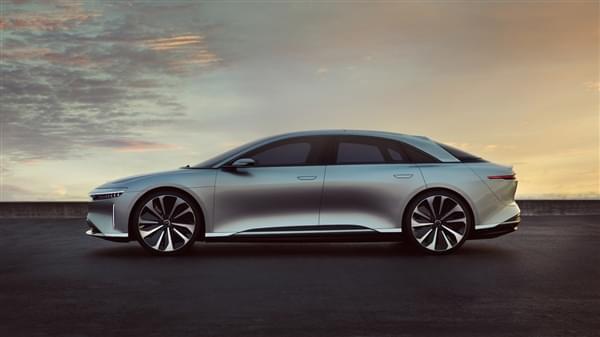 贾跃亭投资的Lucid Motors豪华电动汽车官图公布的照片 - 4