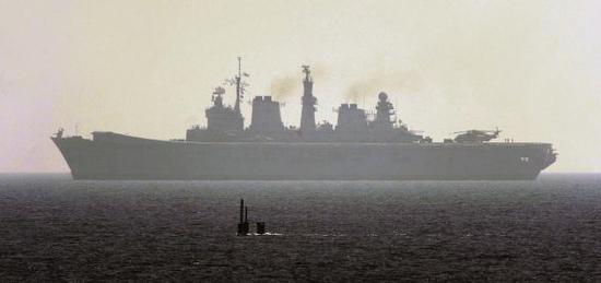 各国海军爱玩猫捉老鼠?中国潜艇让美兵目瞪口呆