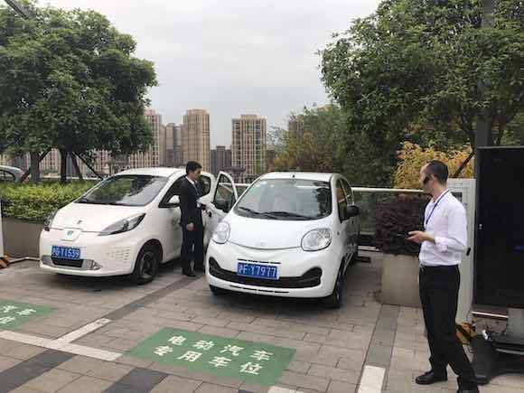 今年重庆将新增1000辆电动汽车 下单开走仅需不到五分钟