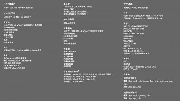HTC U Ultra蓝宝石特别版将于2月发售 售价惊人的照片 - 2