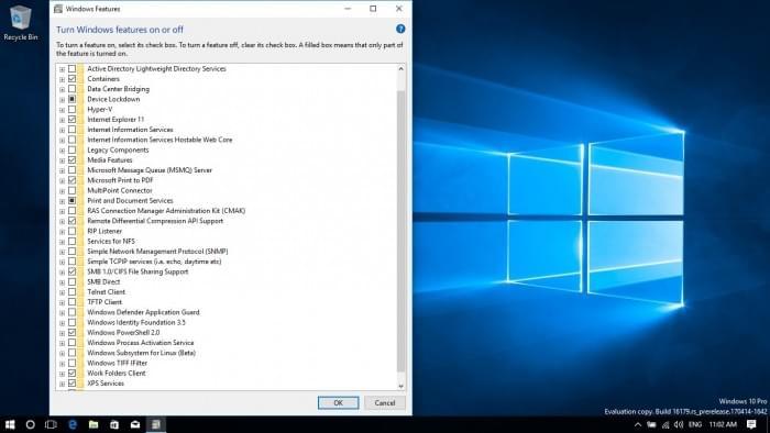 Win 10 Build 16179发布:新增节电功能和VM设置选项的照片 - 3