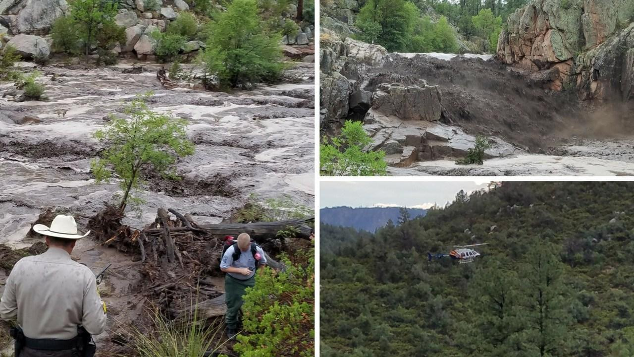 美国亚利桑那州山洪暴发 已造成至少8人死亡