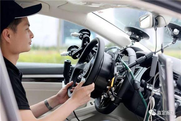 无人汽车在上海能上街了!司机说几乎可全程放手