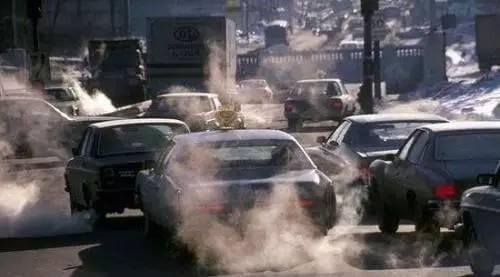 △ 资料图:汽车尾气污染