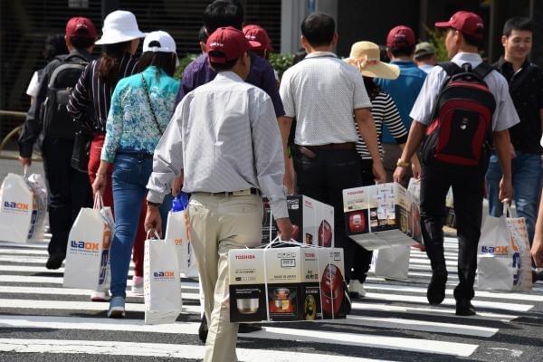 """中国游客""""爆买""""后 日本象印业绩增长陷入停滞的照片"""