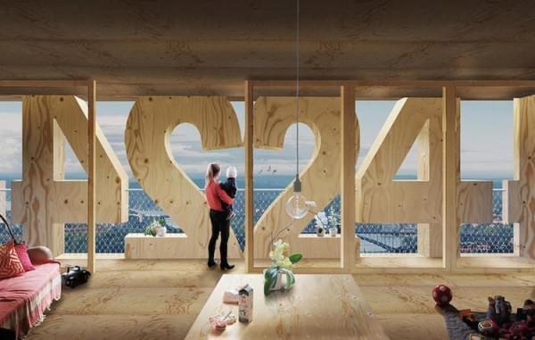 """""""树屋""""设计到80层了 木材也能建摩天楼?的照片 - 8"""
