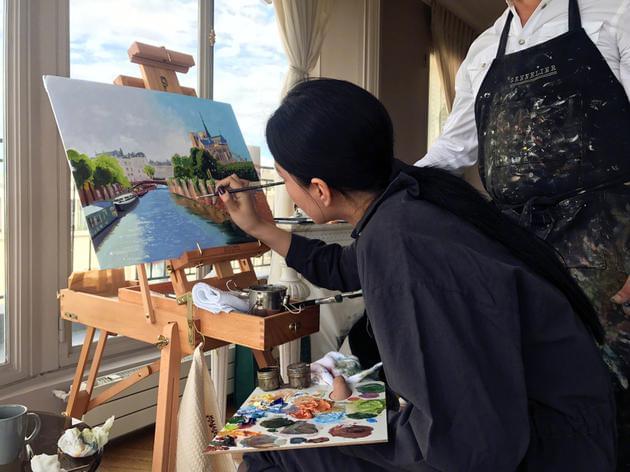 张馨予巴黎学画画被黑 回应:不喜欢不看就好了