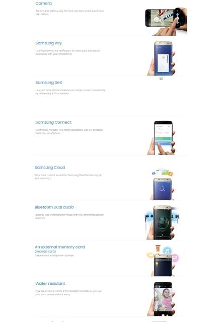 三星官网偷跑Galaxy S8说明书:海量新功能确认的照片 - 5