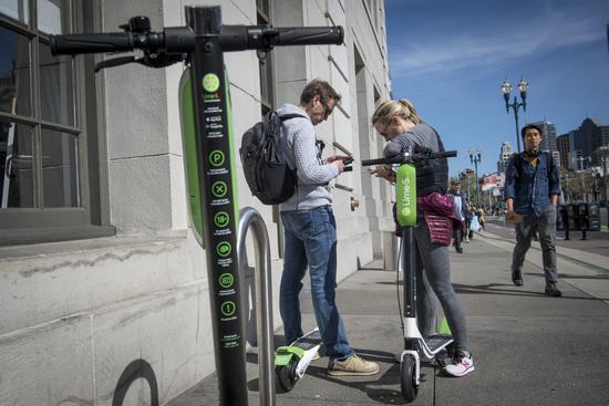 传谷歌投资电动滑板车公司Lime 加码未来交通