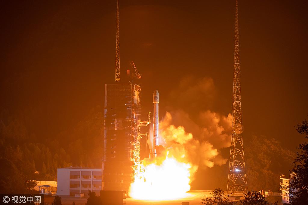 一箭射双星, 三号基本系统星座部署完成