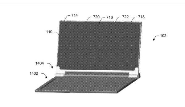 可折叠Surface手机?微软专利显示手机可变成平板电脑的照片 - 9