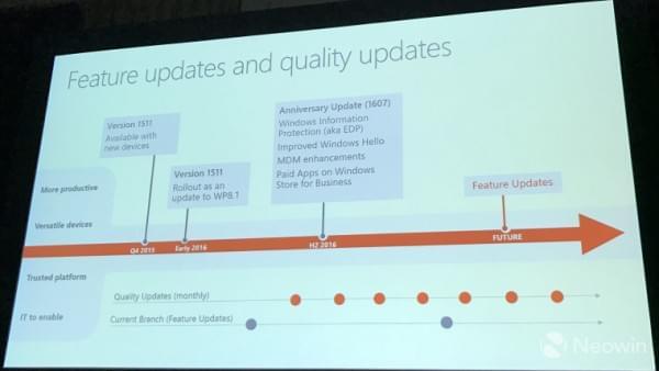 微软公布Windows 10 Mobile 红石2部分功能的照片 - 2