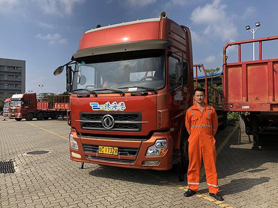 一名珠三角货车司机的一天和天天