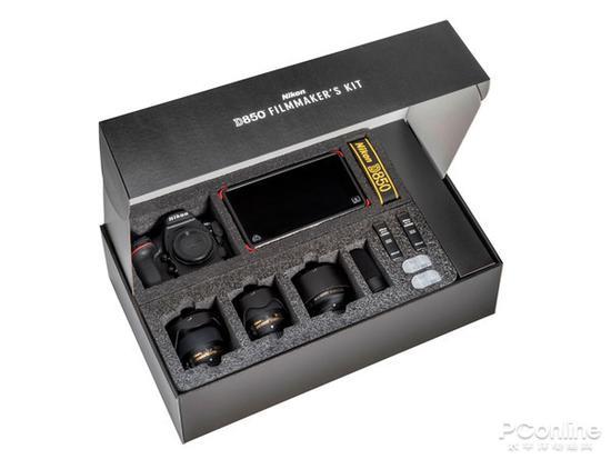 拍微电影的专用套装 尼康推出D850摄影套装