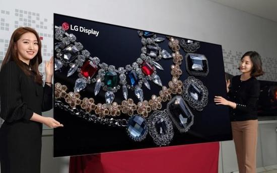 最大8K OLED面板面世 LG将在CES上放大招
