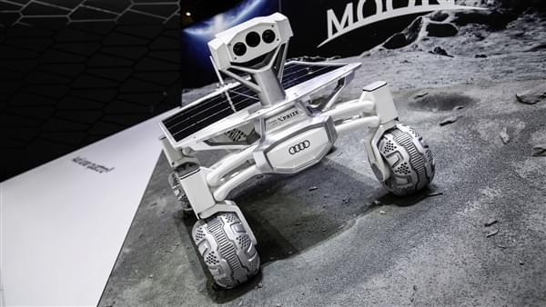 奥迪首款月球车明年发射:看家技术全用上了的照片 - 3