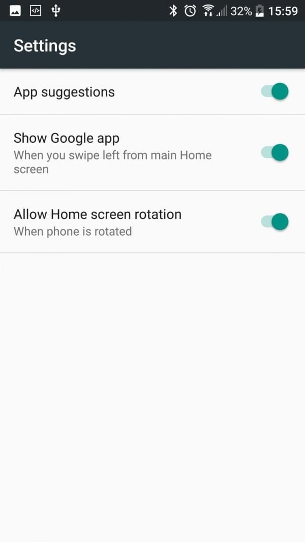 谷歌Pixel手机安卓7.1桌面Launcher下载:取消程序抽屉的照片 - 3
