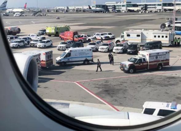 阿联酋飞美国航班上19人染病 乘客:早觉得不对劲