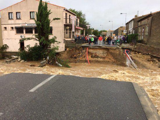 法国南部地区发生洪灾 已确认7人死亡5人重伤