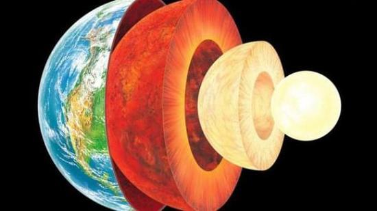 这项研究的第一作者,日本東北大学大学院理学研究科的大谷栄治教授对媒体表示:我们相信硅是一种主要元素按质量比计算,在地球内核内占比超过5%,它溶解在铁镍合金当中。 难以企及 地球的最核心部分内核,被科学家们认为是一个固体的球体,其直径大约1200公里。这一部分实在太深,难以开展任何的直接研究,因此科学家们主要是通过地震波的方式对其各项性质进行推断。到目前为止,我们相信地球内核从质量比上看,铁占据了大约85%,镍大约占到10%。而为了调查剩下的5%质量究竟应该是何种元素,大谷栄治教授和他的研究组尝