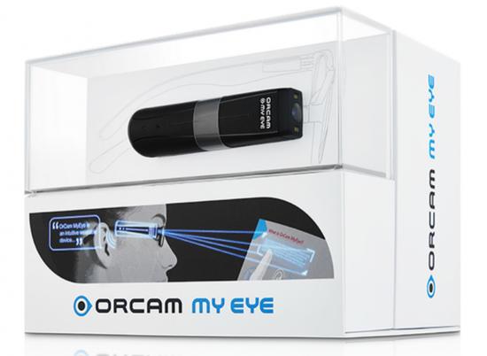 可穿戴AI视力辅具OrCam首登中国国际福祉博览会