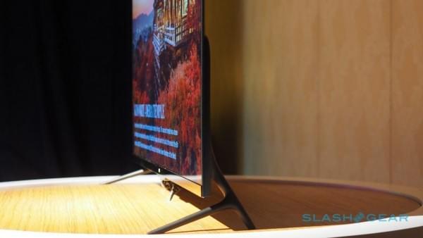 薄至4.9mm 小米电视4 CES现场图赏的照片 - 4