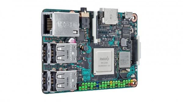华硕推Tinker Board微型电脑:树莓派有力竞争者,支持4K的照片 - 1