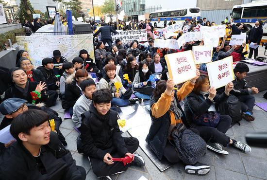 韩将解散慰安妇和解基金会 日本10亿打水漂?