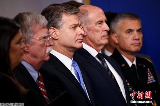 美国安部长:尚未发现有外国力量干涉中期选举