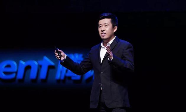 腾讯公司副总裁林松涛。来源:被访者供图