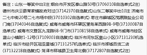 双色球1.61亿元巨奖诞生 山东彩民包揽3注