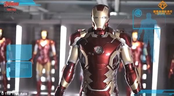 钢铁侠官方1:1战衣开卖:250万一套、能变形的照片 - 1