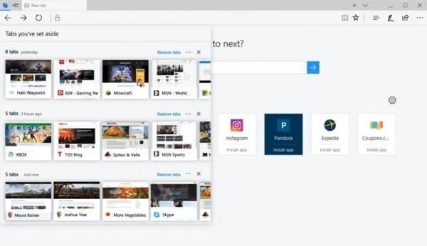 Edge浏览器迎重大更新:丰富标签页管理支持WebVR的照片 - 2