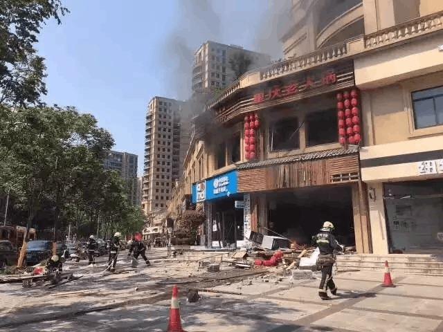 浙江一火锅店爆炸 目击者:现场惨不忍睹 全是血