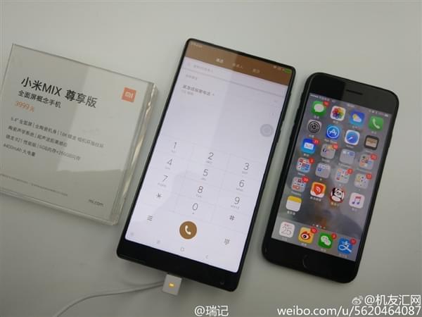 小米MIX全面屏手机真机现场图赏:3499元起售的照片 - 8