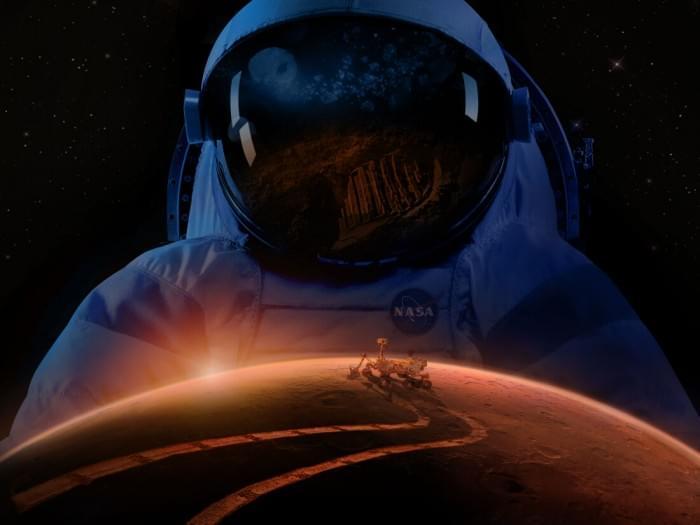 美国政府向NASA传达信息:2033年将人类送上火星的照片