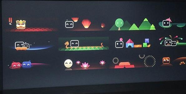 传祺injoy智能互联系统UI动态效果展示(图片来自网络)
