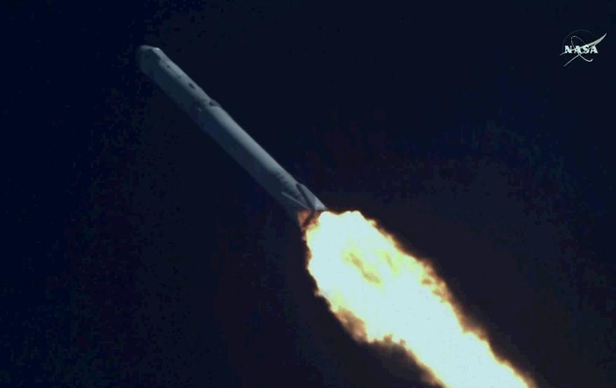 SpaceX今年最后一次发射火箭:成功但不回收了