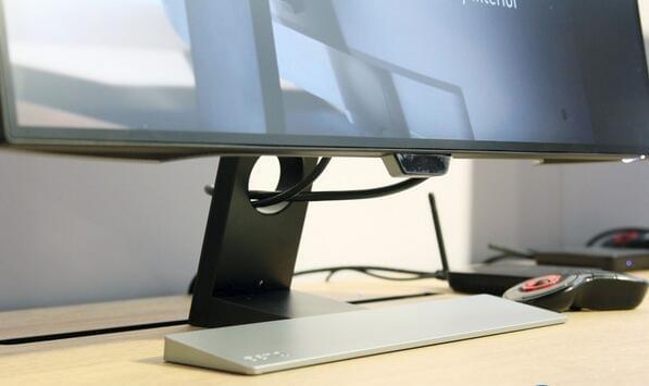 明基发布首款自动亮度显示器:用一天眼不累的照片 - 2