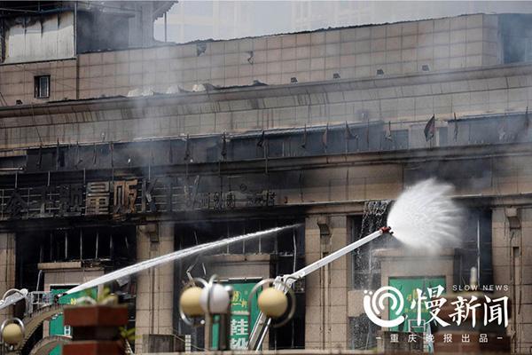 四川达州火灾烧了3天终于灭了 有商户称损失超千万